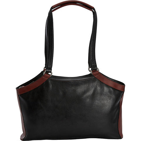 Leather Handbag East/West Shoulder Tote CD-1923 (Available in another colour)