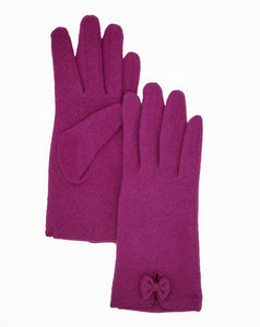 Wool Bow Glove (Albee Assorted)
