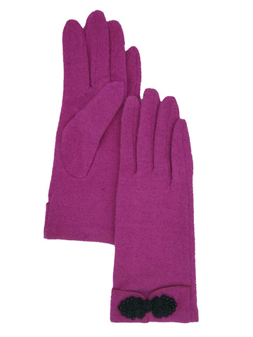 Wool Embellishment Glove (Albee Assorted)
