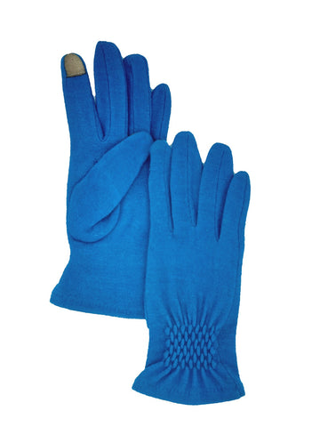 Wool Ruched Glove (Albee Assorted)