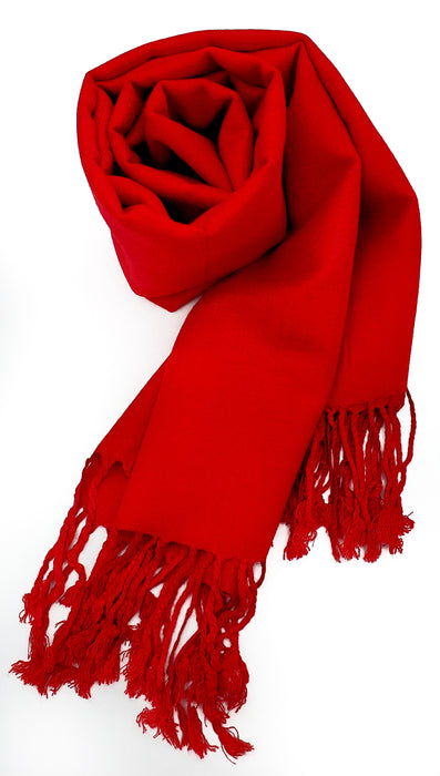 Pashmina (Bright Red)