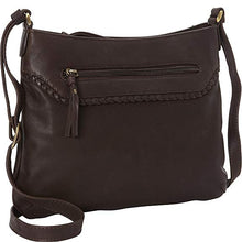 Load image into Gallery viewer, Leather Ladies' Handbag with Top Zip and Classic Slim Styling (FB-2150)