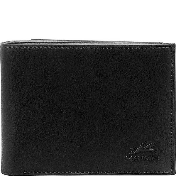 Leather Men's Wallet with Trifold Wing RFID (52157)
