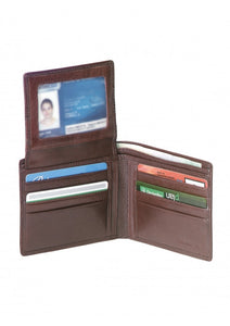 Leather Men's Wallet RFID (52154)