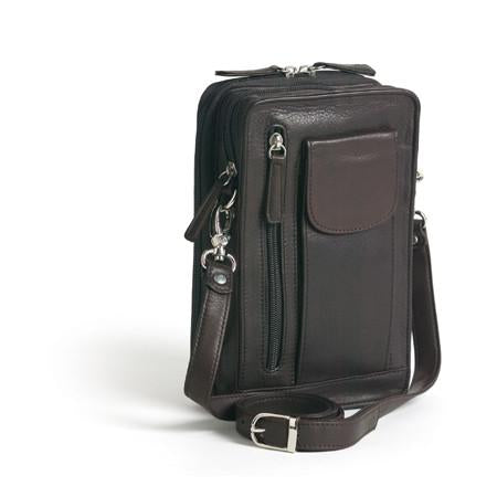 Leather Men's Travel Bag Small 4001