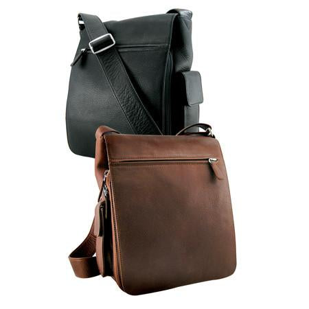 Leather Messenger Bag (4021)