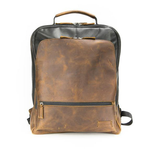 Leather Men's Backpack Vintage Byron 4044