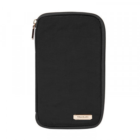 RFID Blocking Family Passport Zip Wallet (43402)