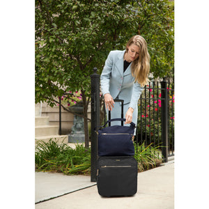 Anti-Theft Tailored Wheeled Underseat Carry-On (44052)