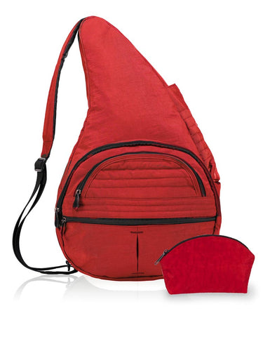 Healthy Back Bag - Distressed Nylon Carry-All (44315) Available in other colours