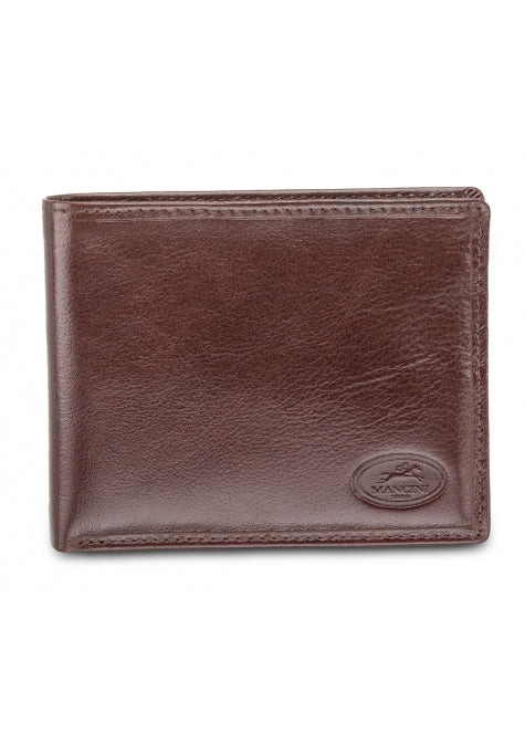 Leather Men's Wallet with Removable Passcase RFID (52953)