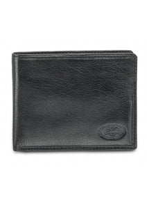 Leather Men's Wallet with Removable Passcase RFID (52954)