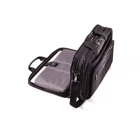 Samsonite Zippered Classic 3 Gusset Briefcase (63640)