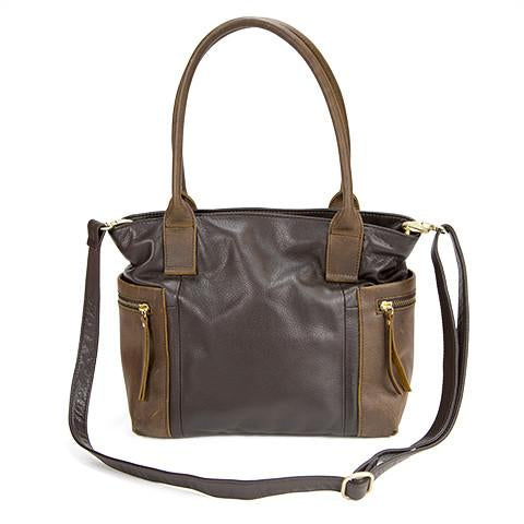 Leather Women's Satchel RFID (7122)