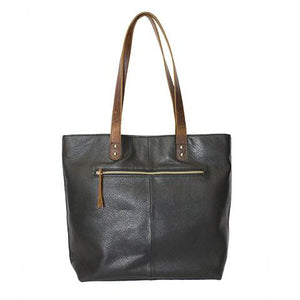 Leather Women's Tote Bag RFID (7124)