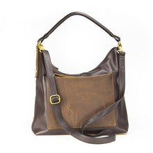 Load image into Gallery viewer, Leather Women's Hobo Bag RFID (7127)