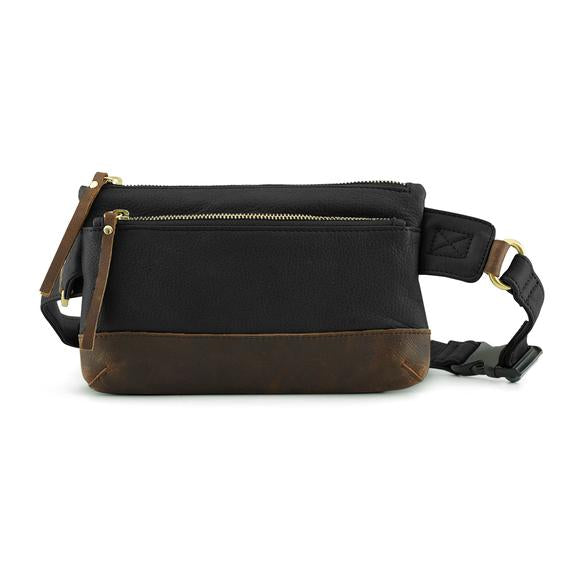 Leather Waist Pack (7133)