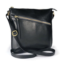 Load image into Gallery viewer, Leather Women's Trinity Crossbody Bag (7141)