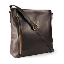 Load image into Gallery viewer, Leather Women's Jordyn Crossbody Bag (7142)