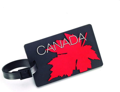 Luggage Tag - Canadian Maple Leaf