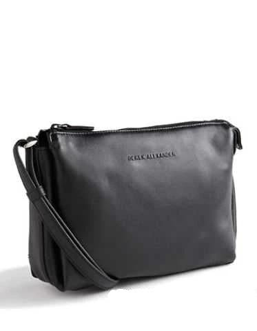 Leather Handbag East/West Top Zip (OB-7162)