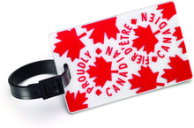 Load image into Gallery viewer, Luggage Tag - Canadian Maple Leaf