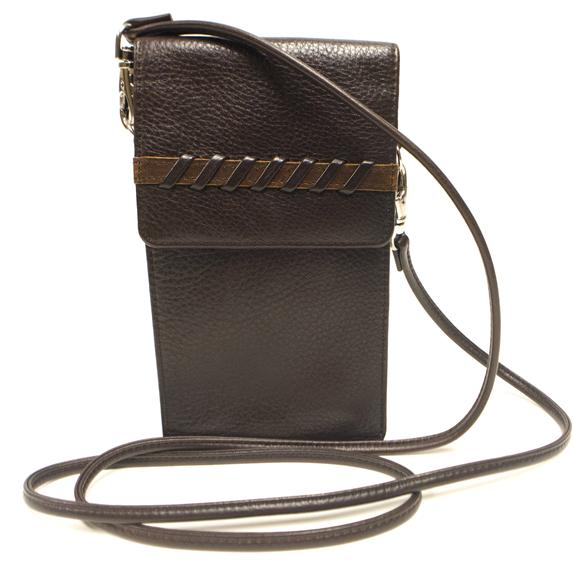 Leather Women's Unique Media Pocket (7210)