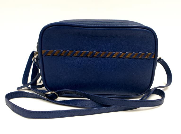 Leather Women's Bag Camera Style RFID (7211)
