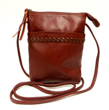 Load image into Gallery viewer, Leather Women's Crossbody Bag Small RFID (7213)