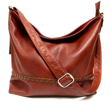 Load image into Gallery viewer, Leather Women's Hobo Bag Large RFID (7215)