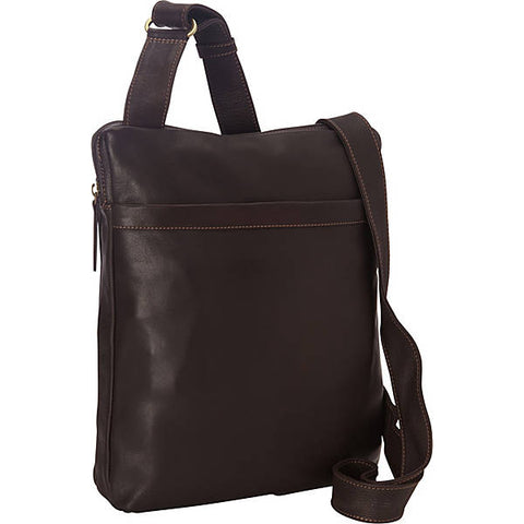 addc7d4694f4 Leather Messenger Bag Top Zip PB-8119 (Available in another colour)