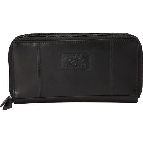 Leather Ladies' Clutch Wallet RFID (8700167)