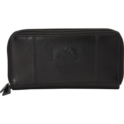 Ladies' RFID Secure Double Zipper Wallet (8700167)