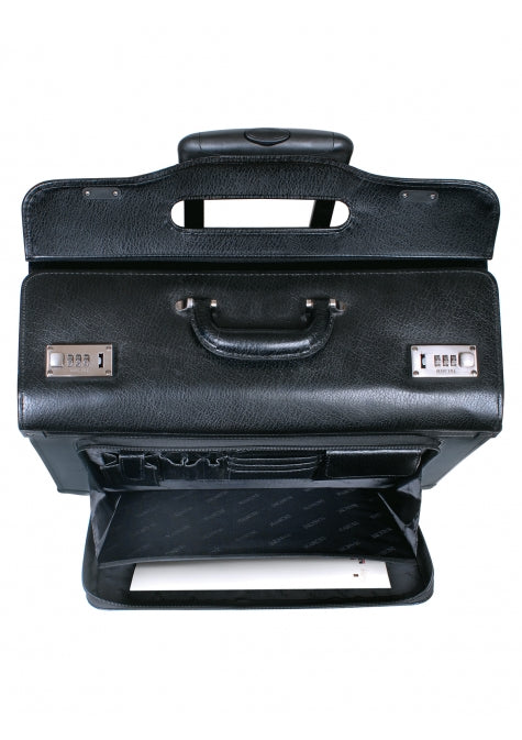 Mancini Leather Briefcase High Capacity (90469)