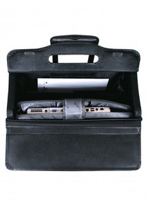 Leather Briefcase High Capacity (90469)