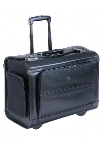 Wheeled Leather Catalog Case (90469)