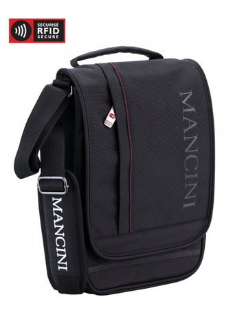 Nylon Messenger Bag for Tablet and E-Reader RFID (91044)
