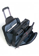 Load image into Gallery viewer, Nylon Wheeled Briefcase Double Compartment Compuroller RFID (92002)