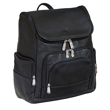 Leather Backpack for Laptop and Tablet RFID (9823)