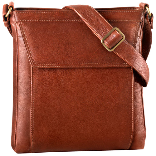 Leather Ladies' Handbag Cross Body (BR-8001)