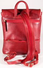 Load image into Gallery viewer, Leather Ladies' Backpack Medium (BR-8002)