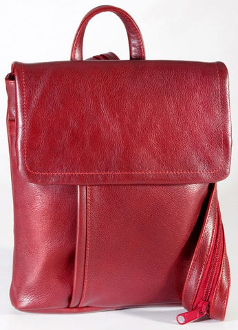 Leather Ladies' Backpack Medium (BR-8002)