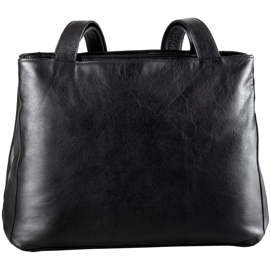 Leather Ladies' Handbag (BR-8022)