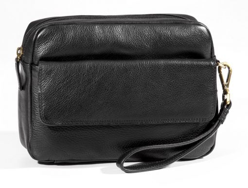 Leather Organizer Wristlet Smart Phone Friendly (BR-8075)