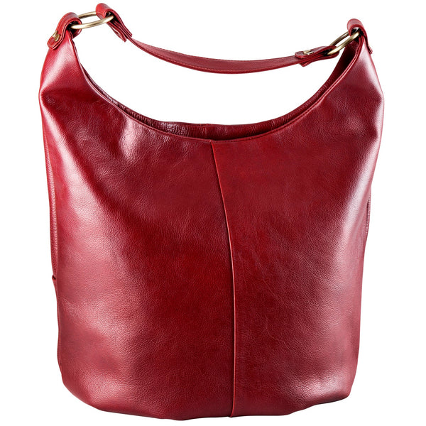 Leather Handbag Large Fixed Strap Hobo BR-8080 (Available in another colour)