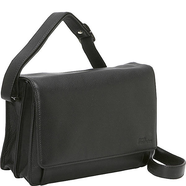 Leather Organizer East/West Three-Quarter Flap (CP-8685)