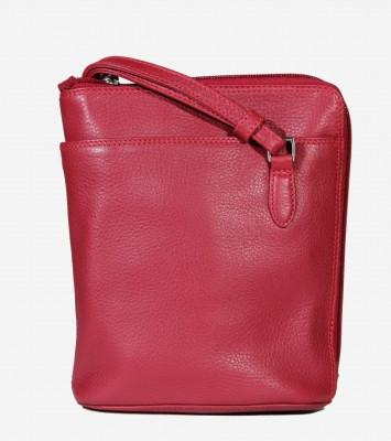 Leather Handbag 2 Sided Zip CP-8732 (Available in other colours)