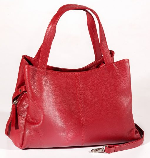 Leather Ladies' Handbag (CP-8839)