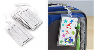 Luggage Tags Set of 3 - Self Laminating (19330)