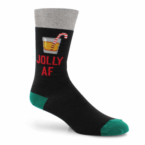 Men's Christmas Jolly AF Socks